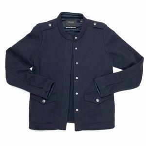 Scotch & Soda | Navy Military Style Jacket Size 2